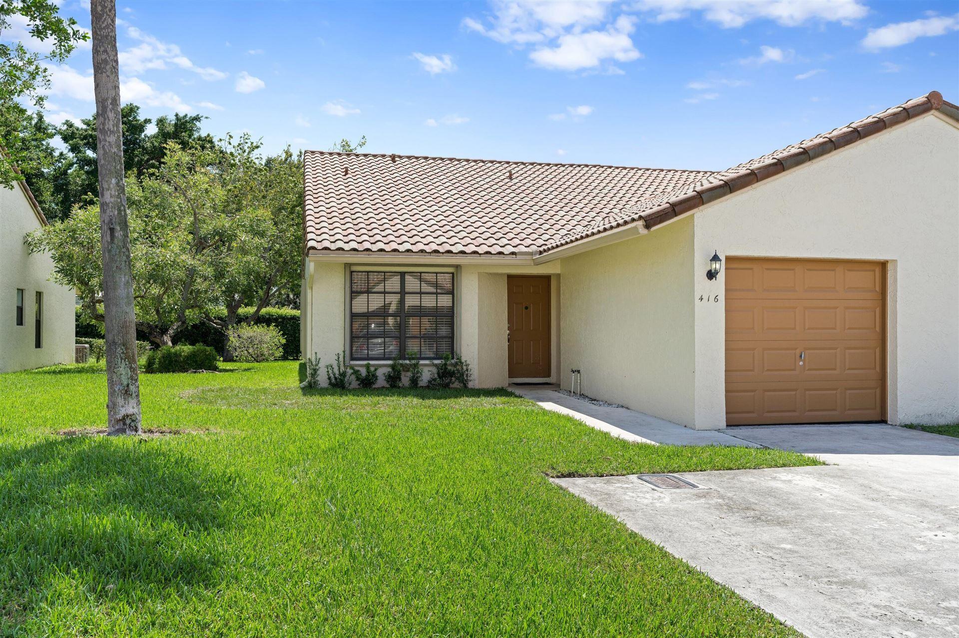 416 Cottonwood Place, Boca Raton, FL 33431 - #: RX-10745481