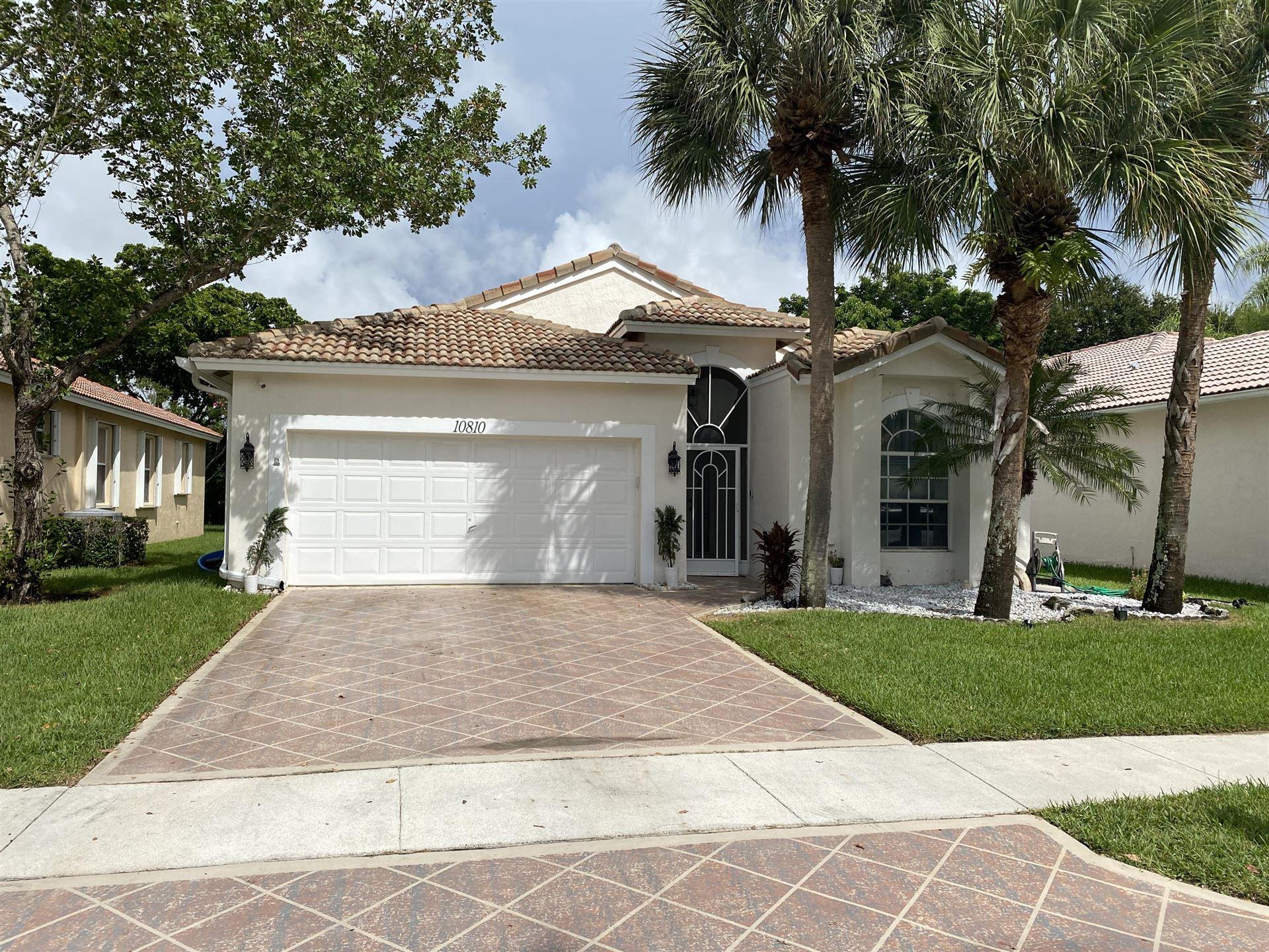 10810 Madison Drive, Boynton Beach, FL 33437 - #: RX-10654484