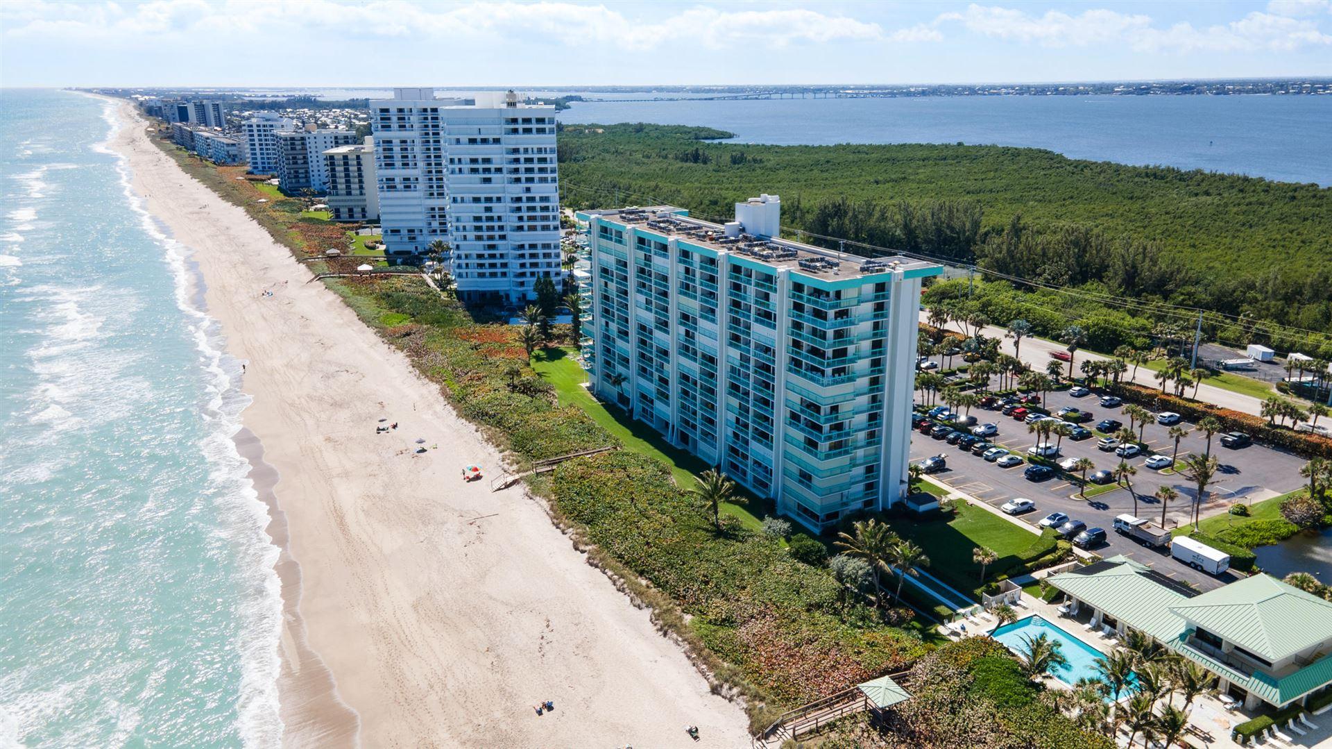 9940 S Ocean Drive #605, Jensen Beach, FL 34957 - #: RX-10695484