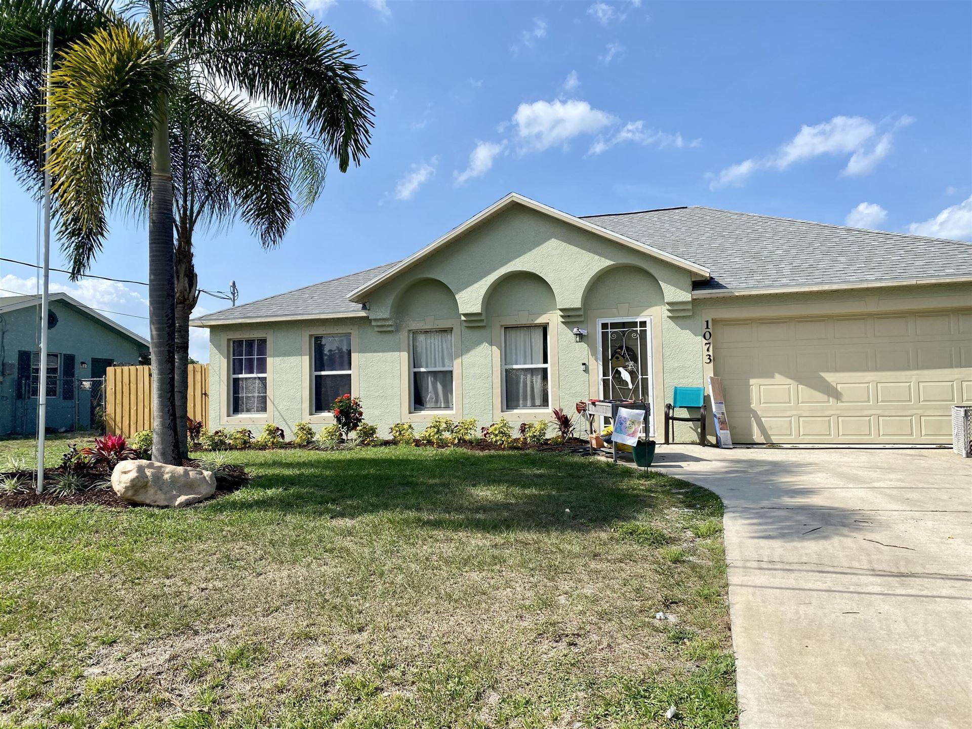 1073 SE Lansdowne Avenue, Port Saint Lucie, FL 34983 - MLS#: RX-10716484