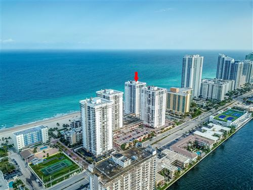 Photo of 2301 S Ocean Dr Drive #606, Hollywood, FL 33019 (MLS # RX-10694485)