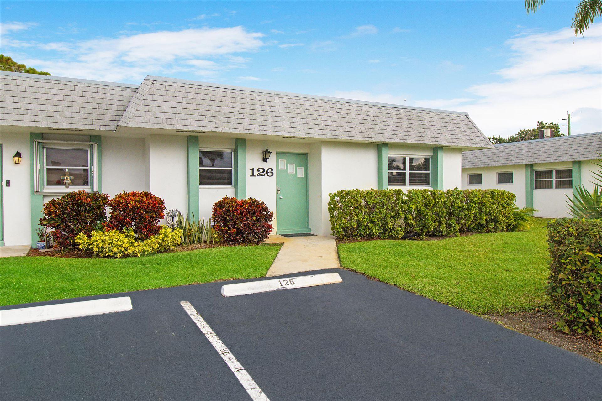 2638 Gately Drive E #126, West Palm Beach, FL 33415 - #: RX-10632486