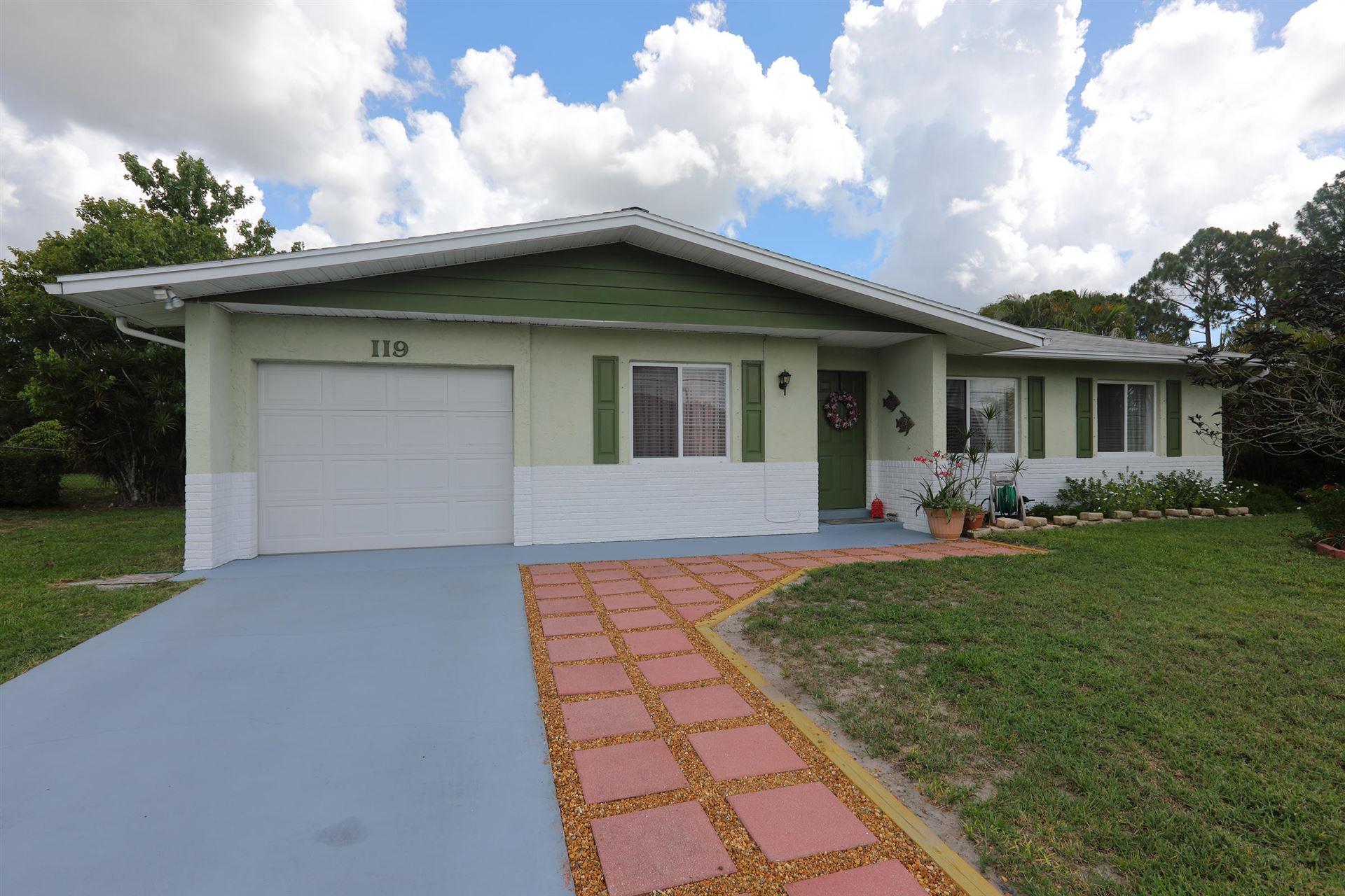119 SW Carter Avenue, Port Saint Lucie, FL 34953 - MLS#: RX-10723487