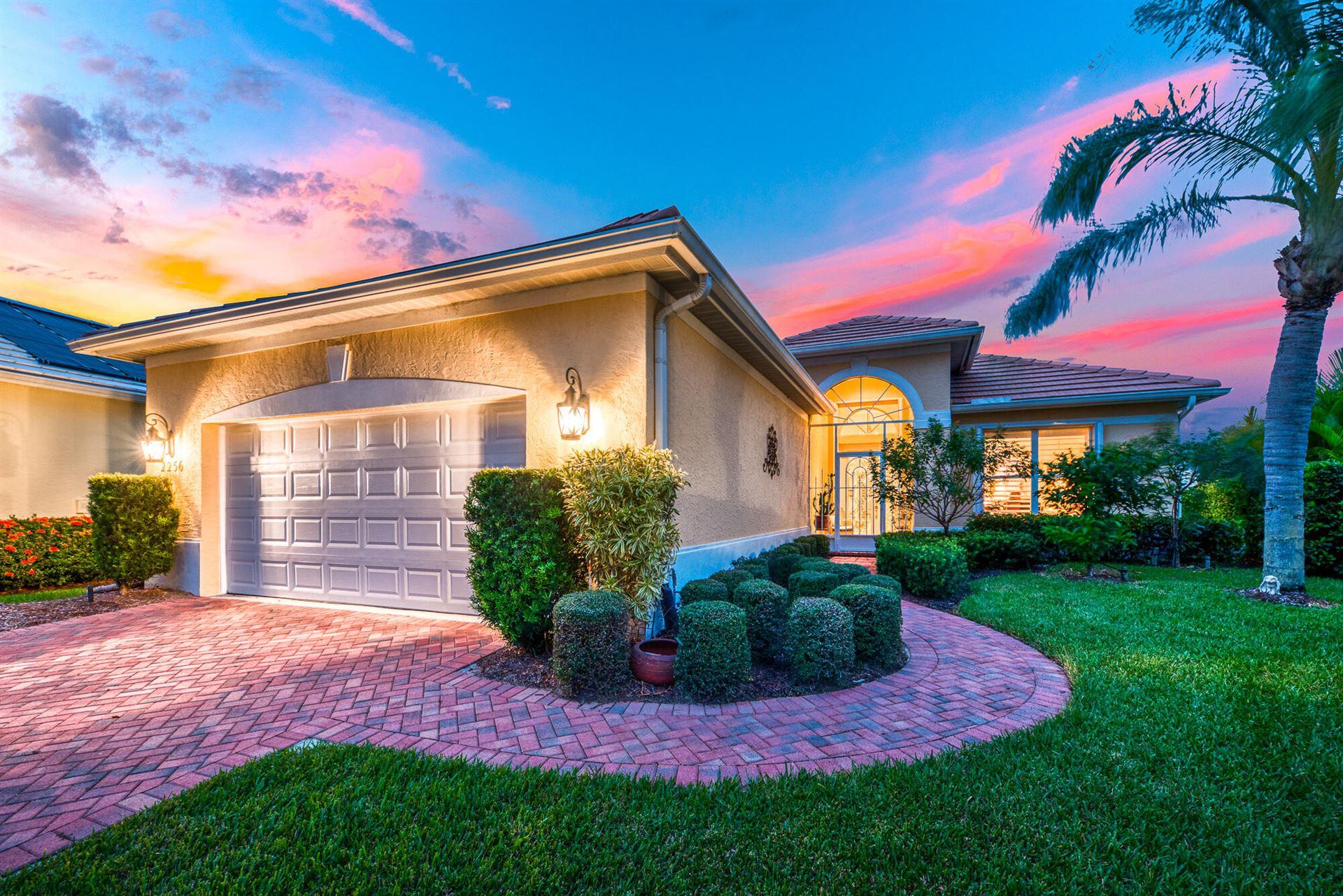 Photo of 2256 SW Brookhaven Way, Palm City, FL 34990 (MLS # RX-10748488)