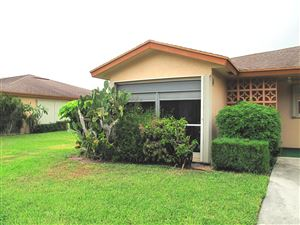 Photo of 14396 Canalview Drive #A, Delray Beach, FL 33484 (MLS # RX-10568489)