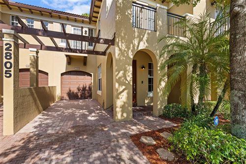 Photo of 2805 Eagle Rock Circle #3, West Palm Beach, FL 33411 (MLS # RX-10744489)