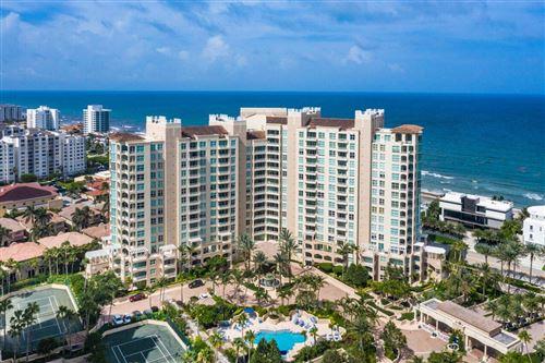 Photo of 3700 S Ocean Boulevard #101a, Highland Beach, FL 33487 (MLS # RX-10731490)
