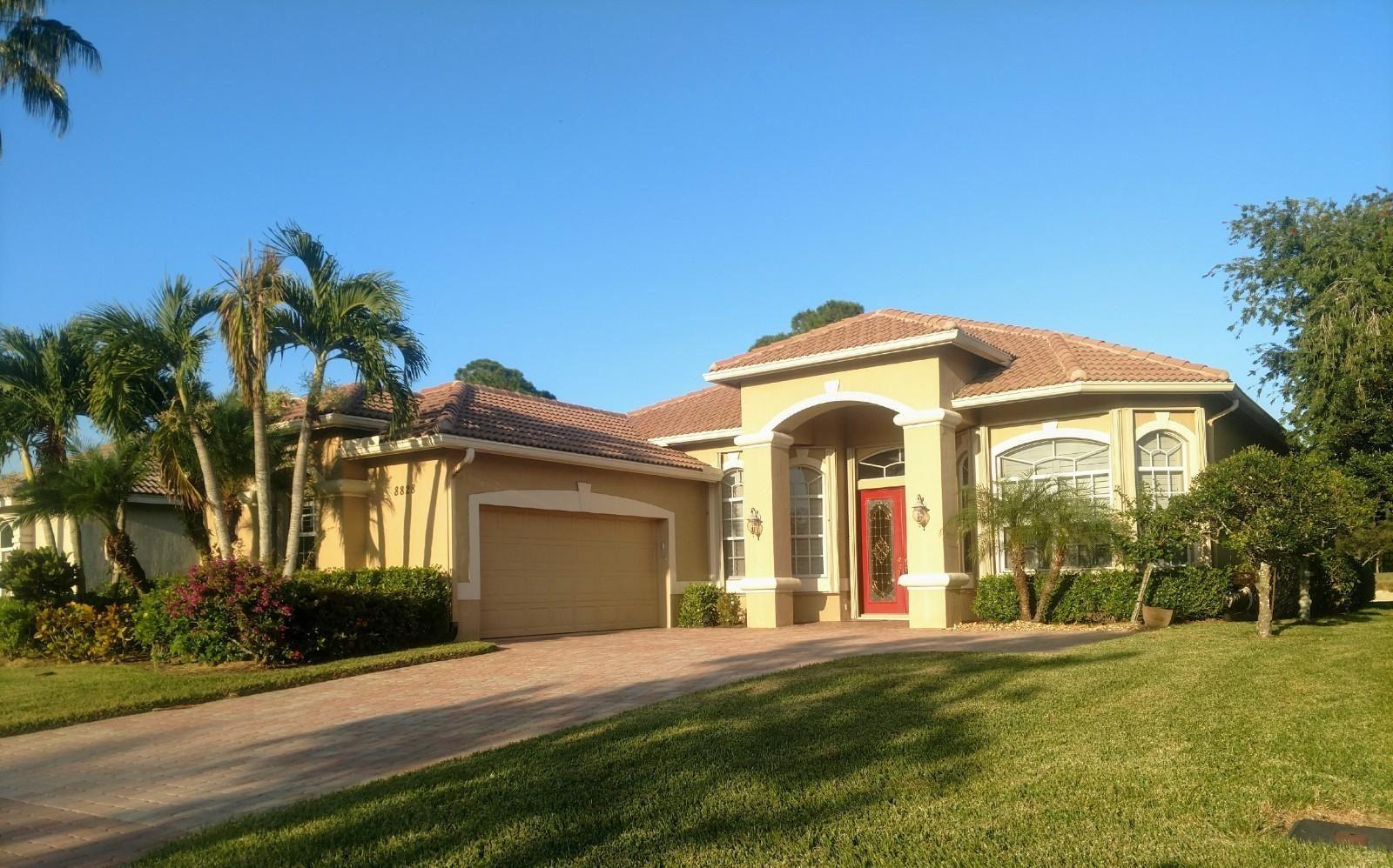Photo of 8828 One Putt Place, Saint Lucie West, FL 34986 (MLS # RX-10685491)