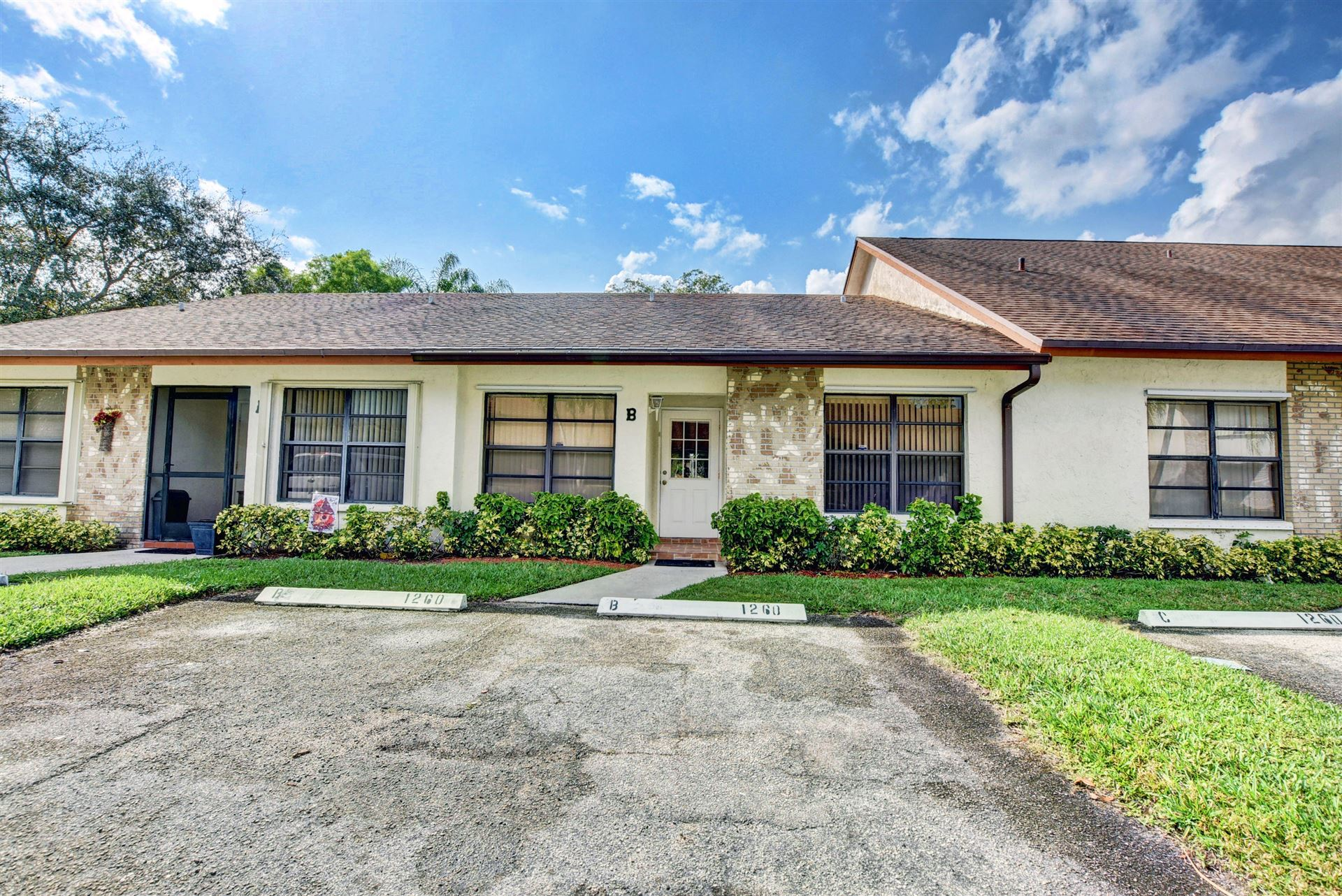 Photo of 1260 Parkside Green Drive #B, West Palm Beach, FL 33415 (MLS # RX-10693492)