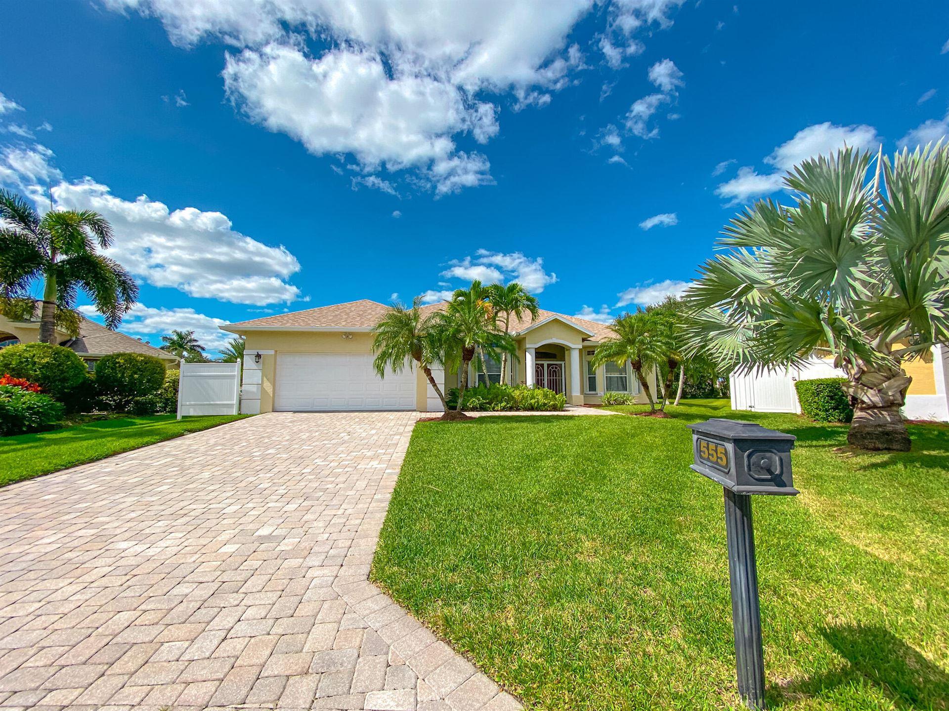 555 Sarina Terrace SW, Vero Beach, FL 32968 - MLS#: RX-10748492