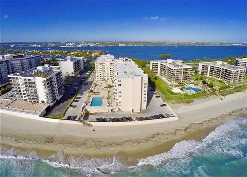 Photo of 3450 S Ocean Boulevard #419, Palm Beach, FL 33480 (MLS # RX-10583494)