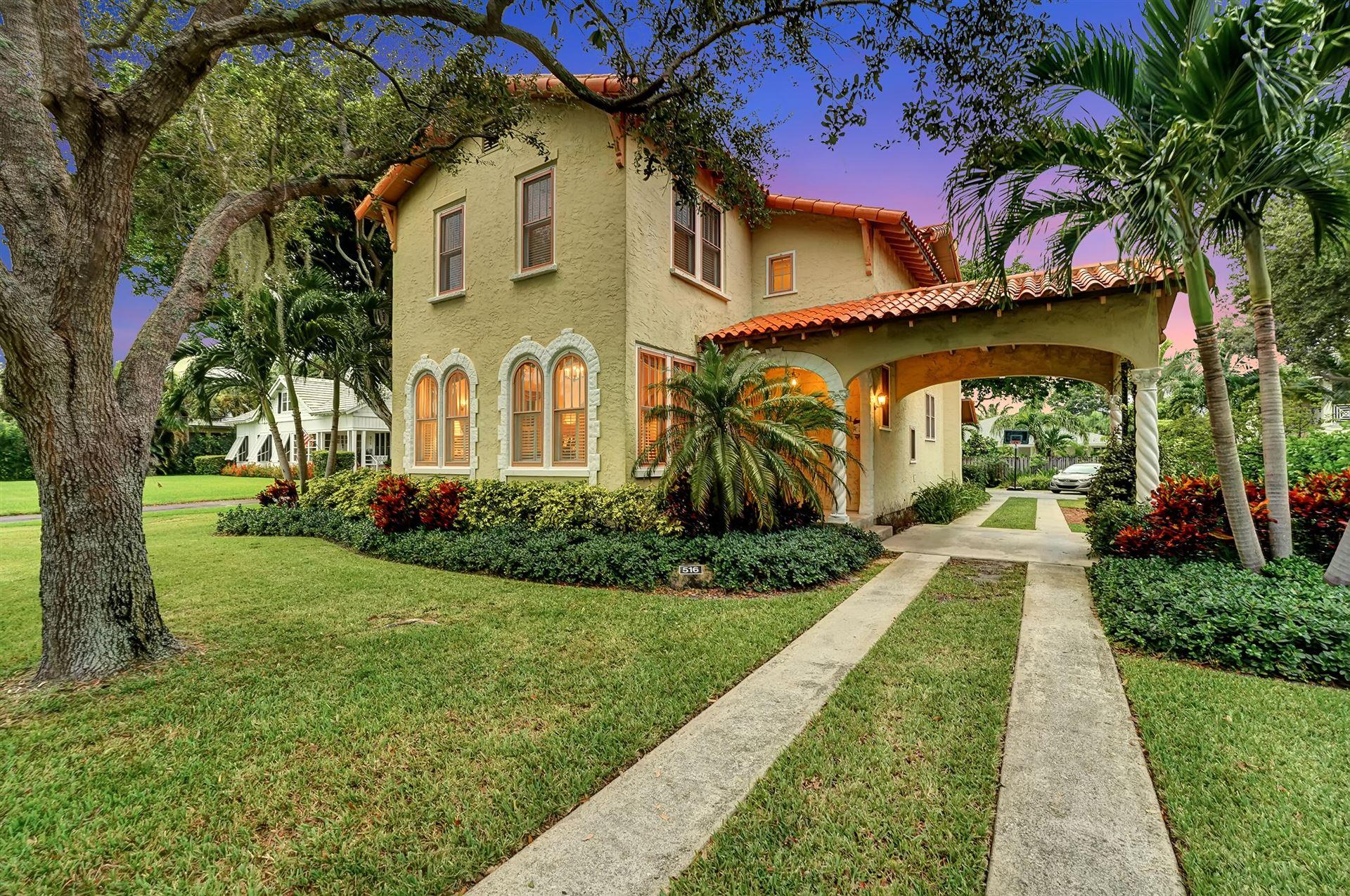 516 N Swinton Avenue, Delray Beach, FL 33444 - MLS#: RX-10744494