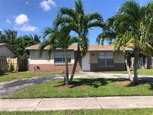 Photo of 7527 Kimberly Boulevard, North Lauderdale, FL 33068 (MLS # RX-10655495)