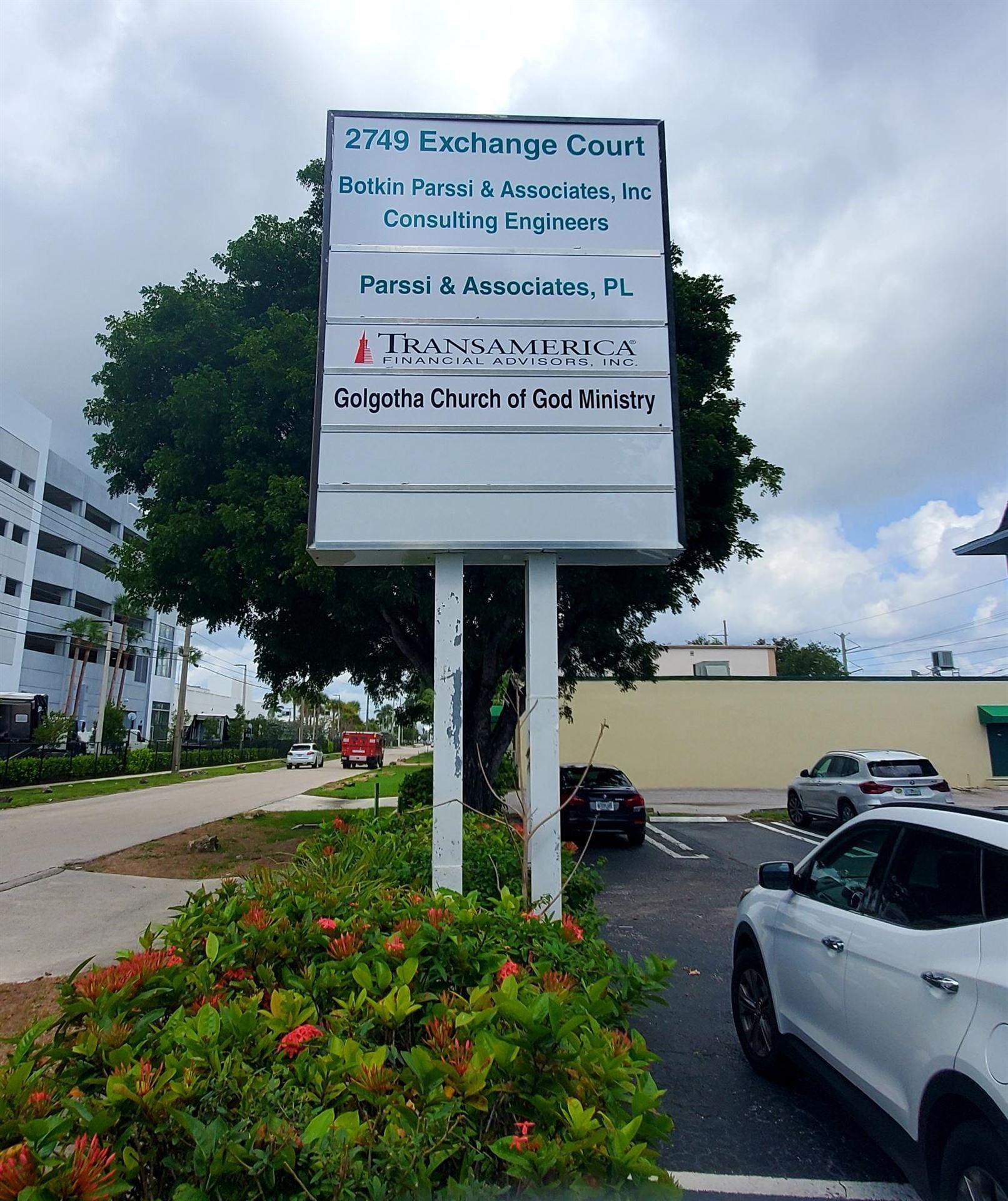Photo of 2749 Exchange Court #C, West Palm Beach, FL 33409 (MLS # RX-10729495)