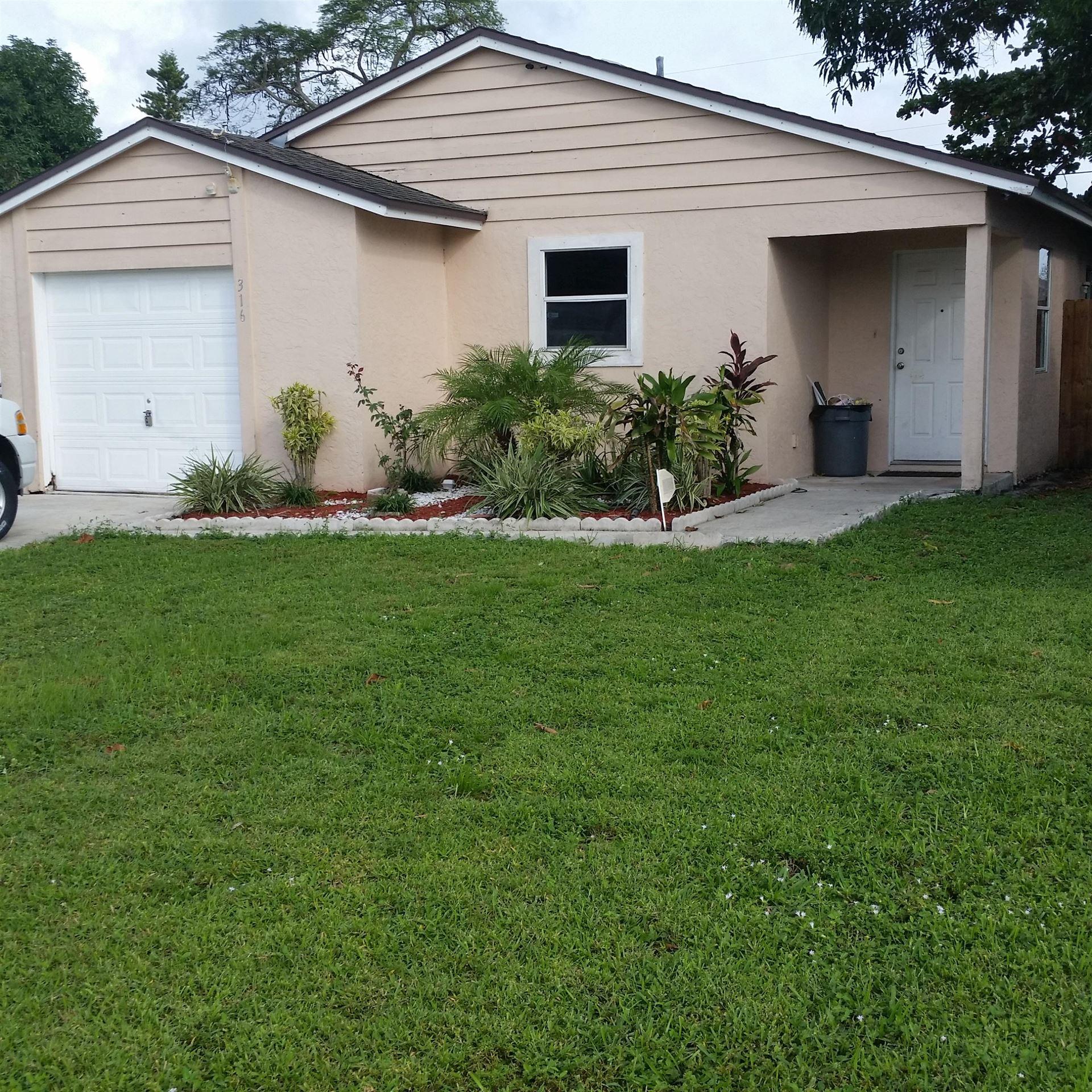 316 Fleming Avenue, Greenacres, FL 33463 - MLS#: RX-10726496