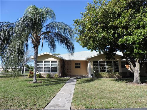 Photo of 14516 Canalview Drive #B, Delray Beach, FL 33484 (MLS # RX-10687498)
