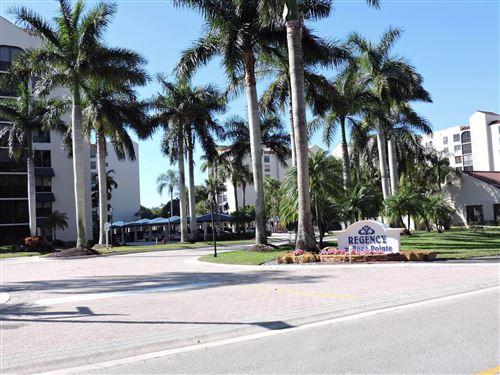 Photo of 7564 Regency Lake Drive #801, Boca Raton, FL 33433 (MLS # RX-10687499)