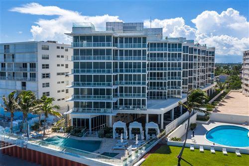 Photo of 3550 S Ocean Boulevard #4 E, South Palm Beach, FL 33480 (MLS # RX-10652501)