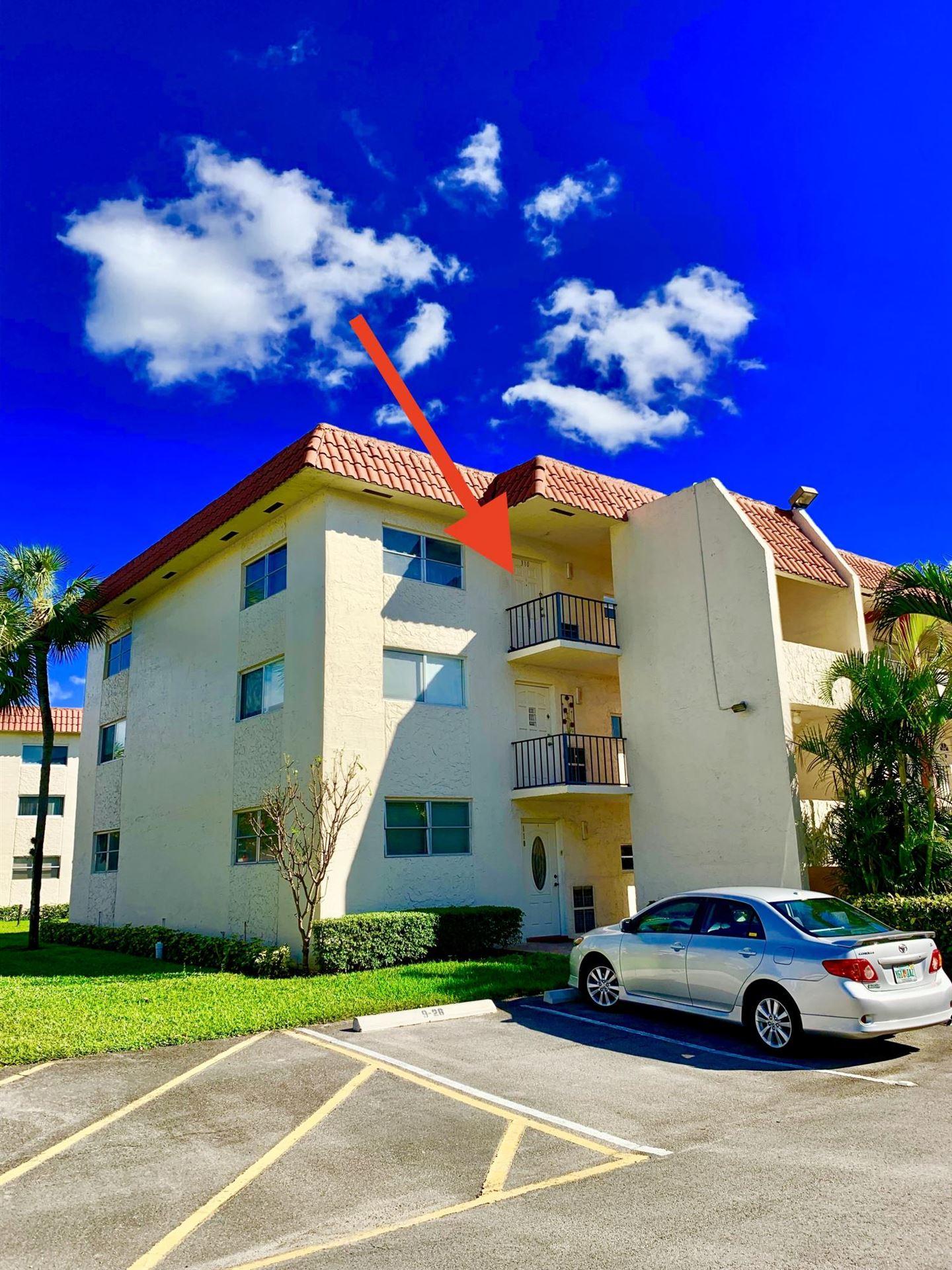 9800 N Hollybrook Lake Drive #310, Pembroke Pines, FL 33025 - #: RX-10622502