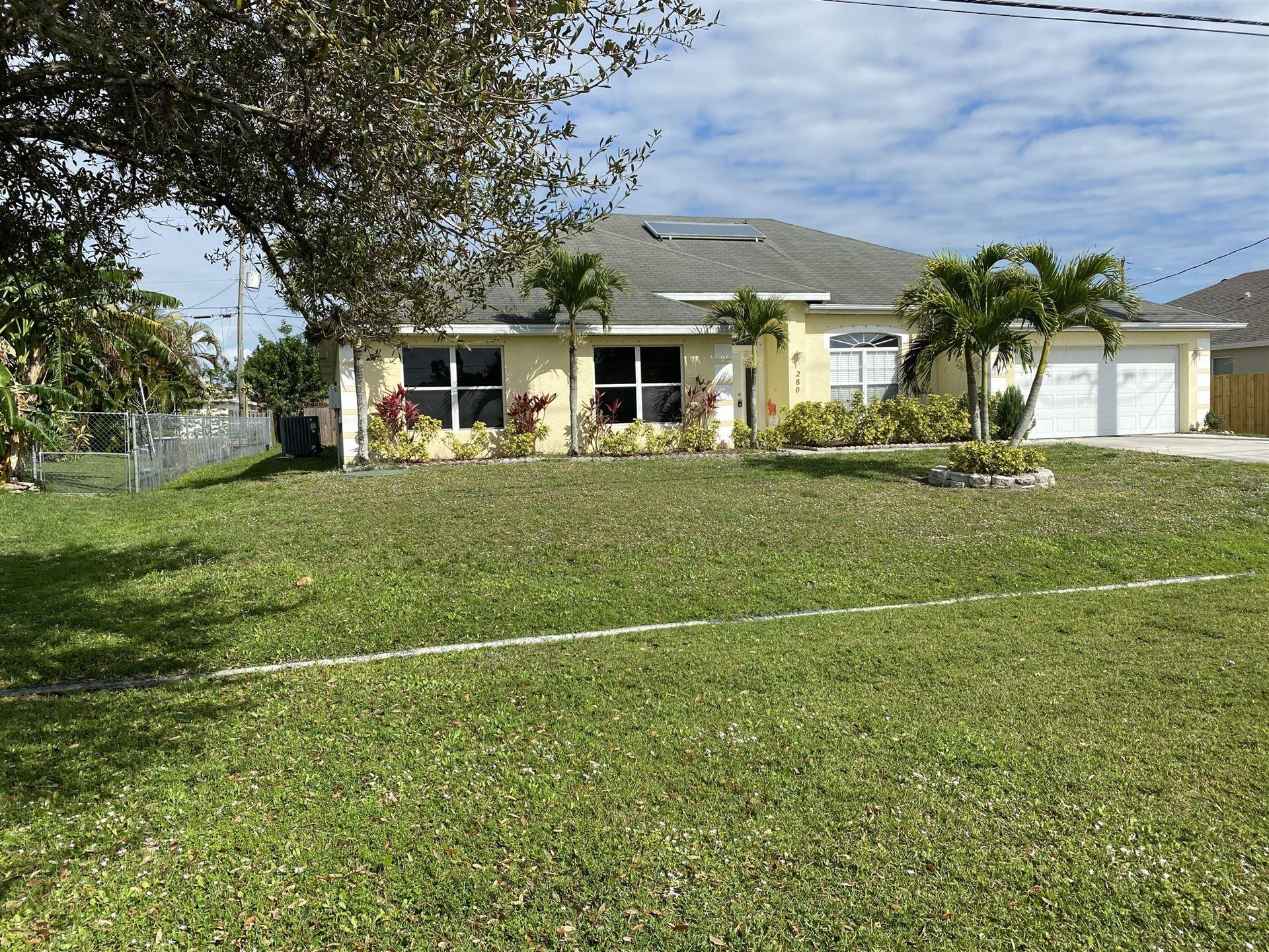 280 SW Tulip Boulevard, Port Saint Lucie, FL 34953 - #: RX-10627502