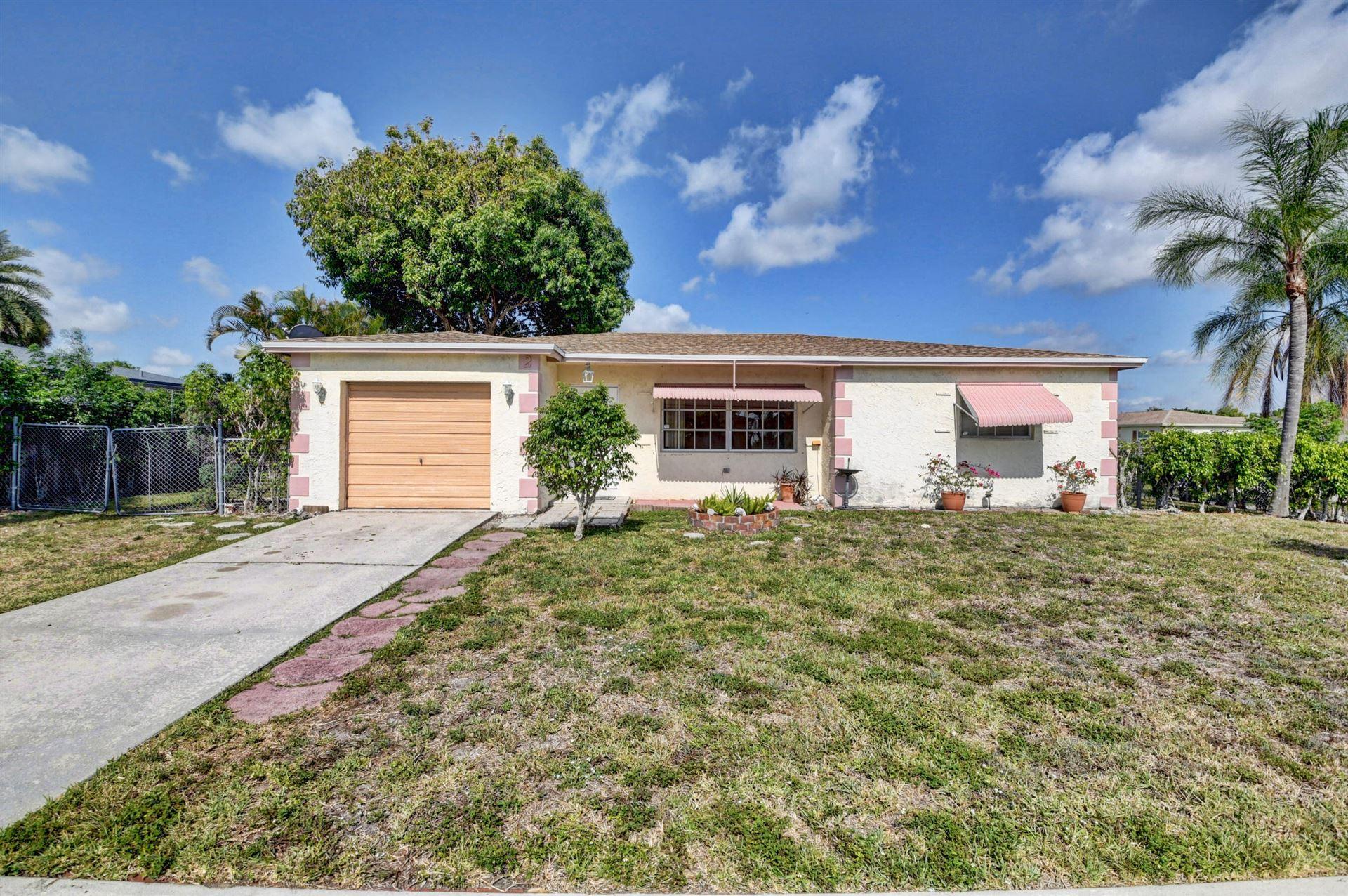 21525 Crozier Avenue, Boca Raton, FL 33428 - MLS#: RX-10714502