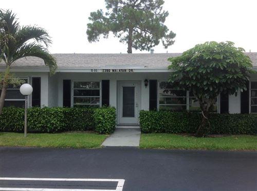 Photo of 2380 Malayan Drive #95-B, Delray Beach, FL 33445 (MLS # RX-10638503)