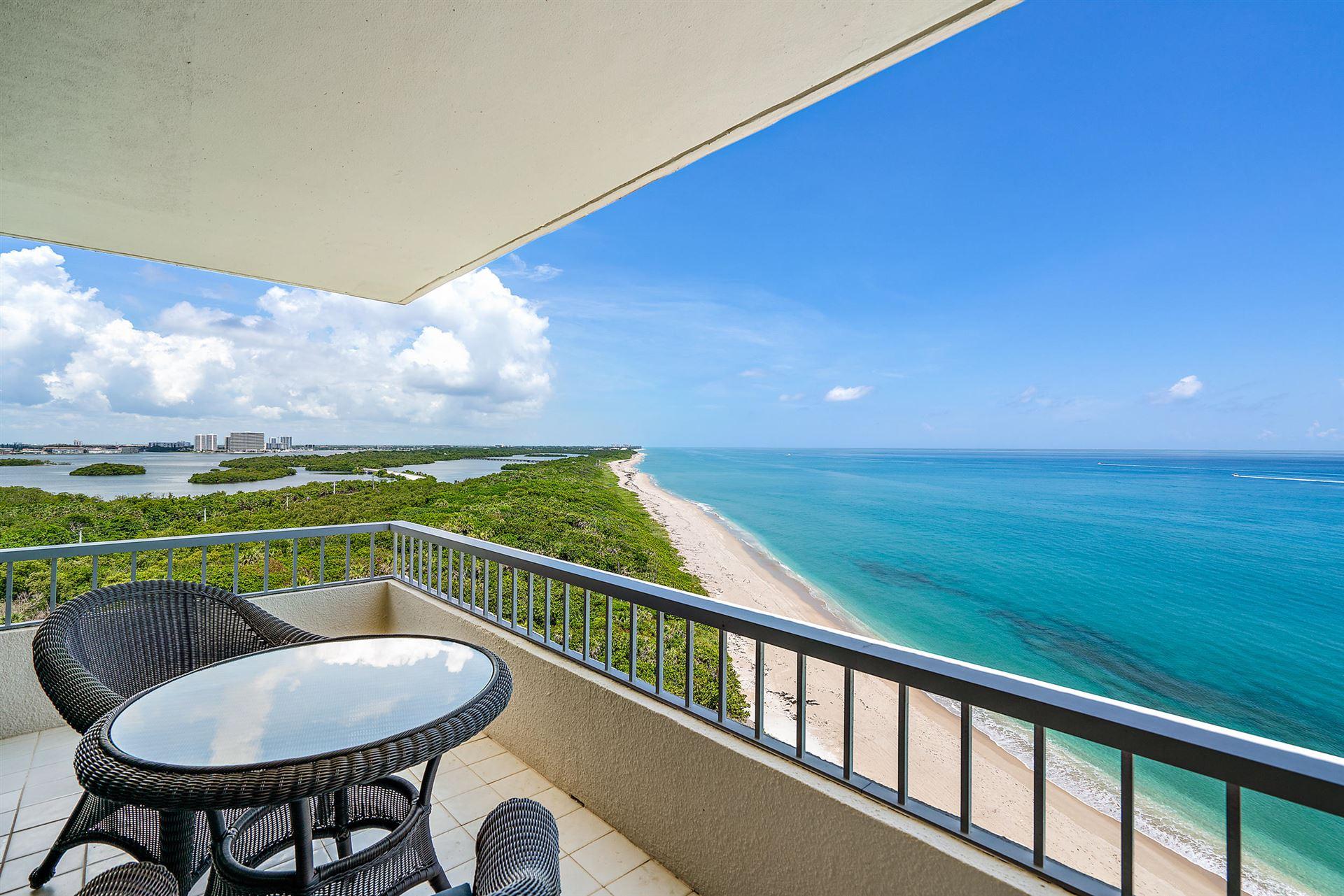 Photo of 5540 N Ocean Drive #10-C, Singer Island, FL 33404 (MLS # RX-10657504)