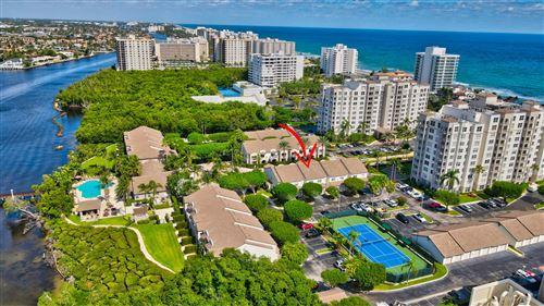 Photo of 3604 S Ocean Boulevard #104, Highland Beach, FL 33487 (MLS # RX-10753505)