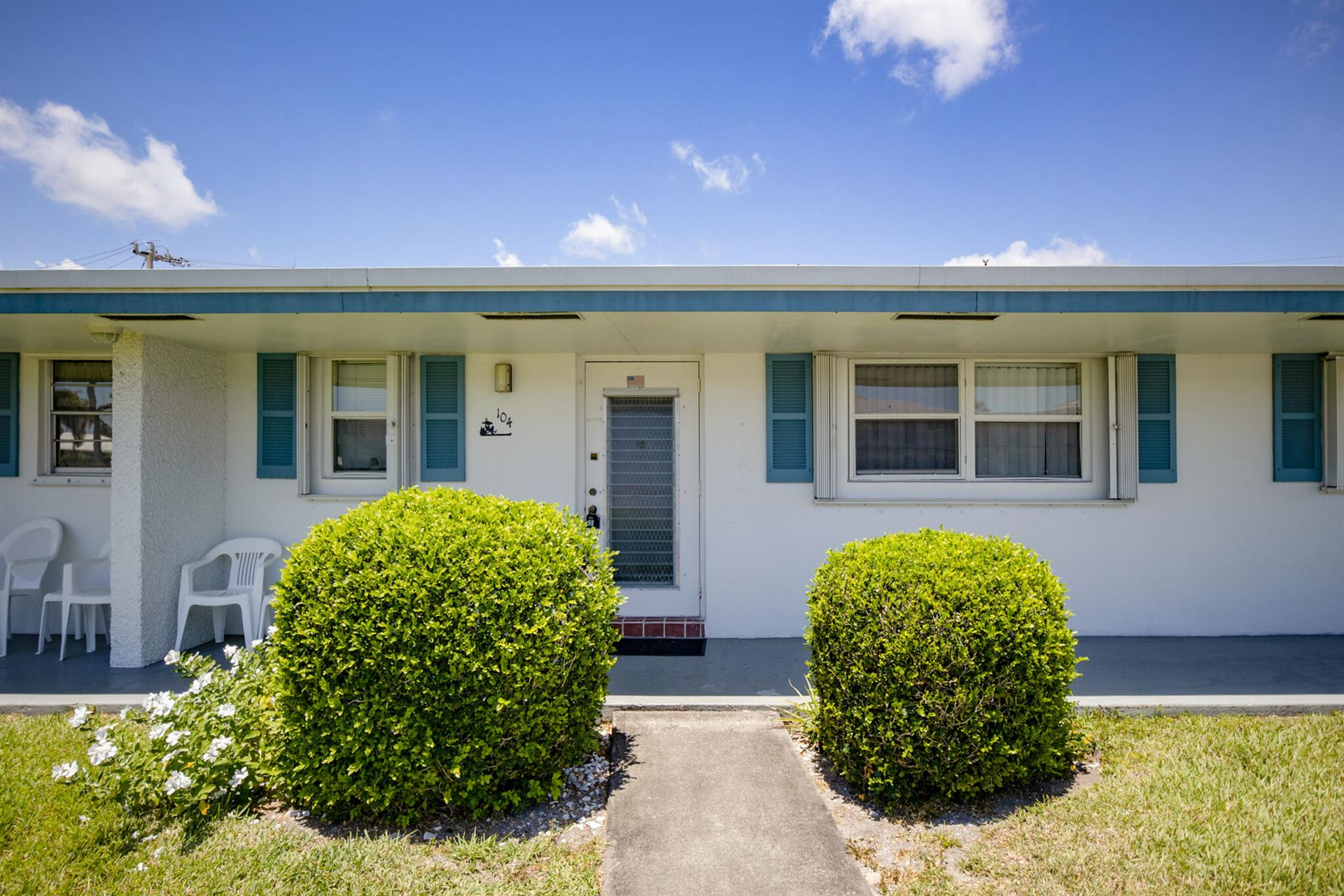 1119 Lake Terrace #104, Boynton Beach, FL 33426 - MLS#: RX-10720505