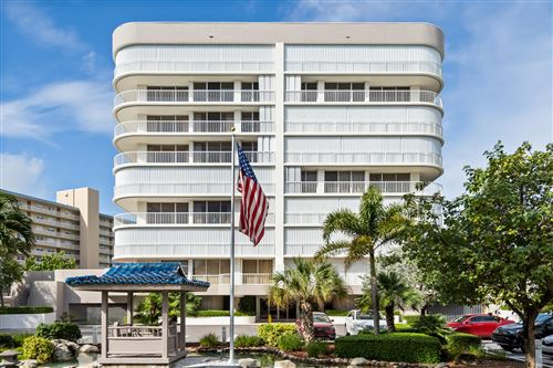 Photo of 3210 S Ocean Boulevard #803, Highland Beach, FL 33487 (MLS # RX-10669507)