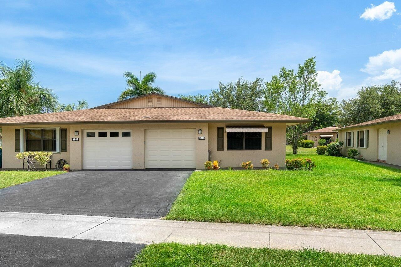 1616 Palmland Drive, Boynton Beach, FL 33436 - MLS#: RX-10733507
