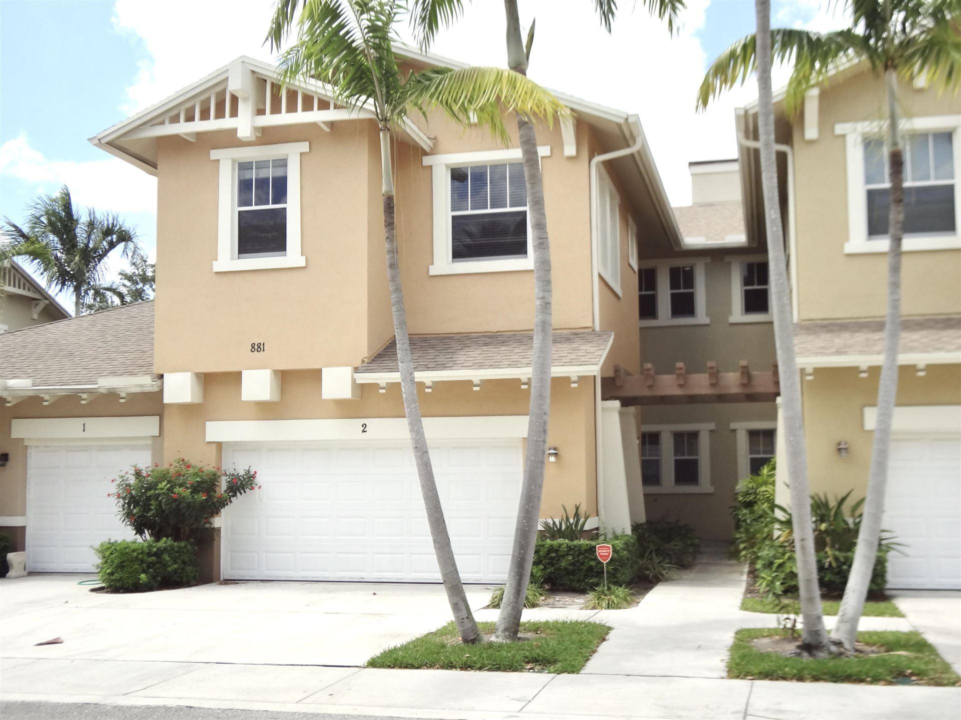881 Marina Del Ray Lane #2, West Palm Beach, FL 33401 - #: RX-10623508