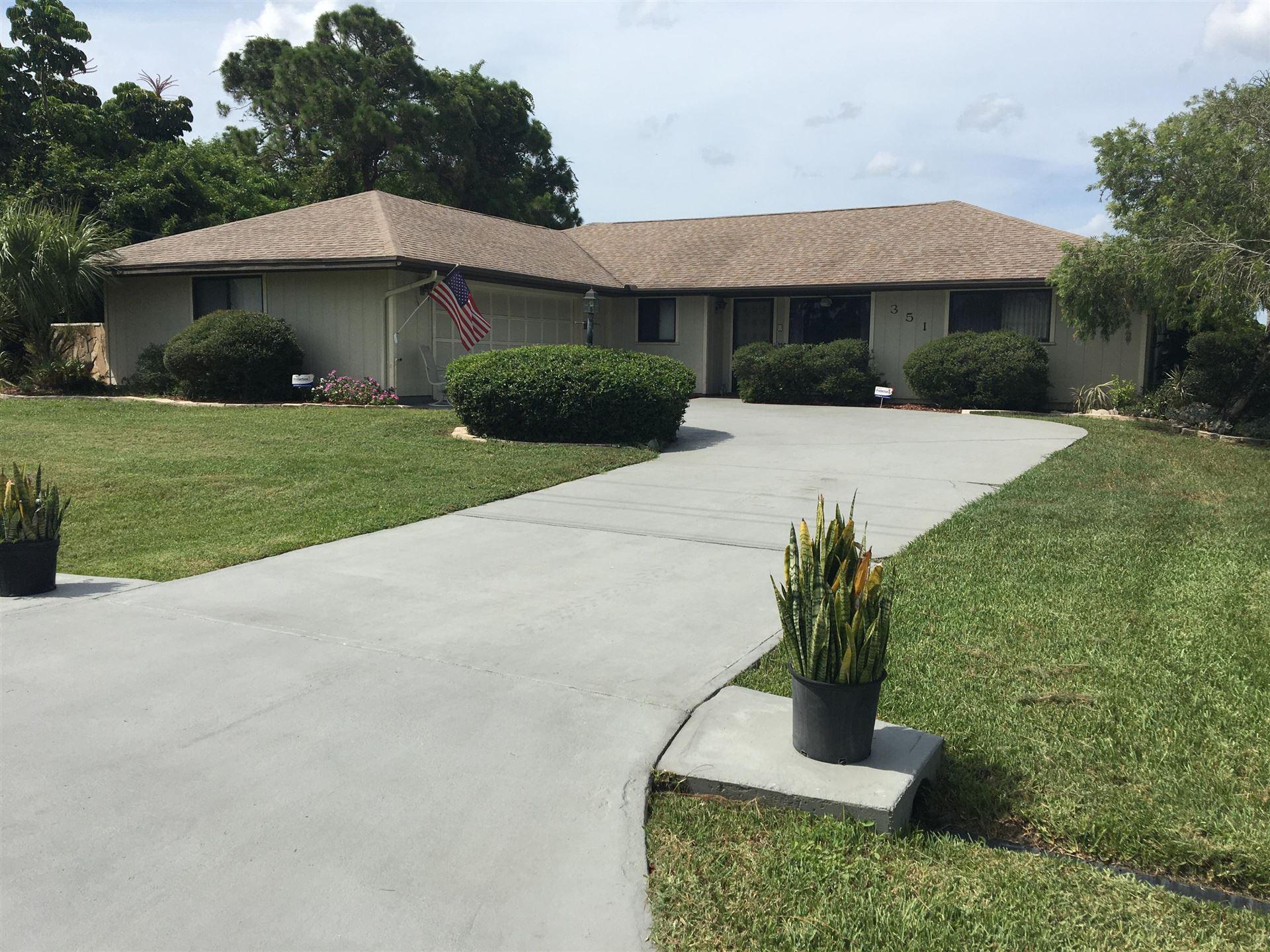 351 SE Glenwood Drive, Port Saint Lucie, FL 34984 - #: RX-10637508
