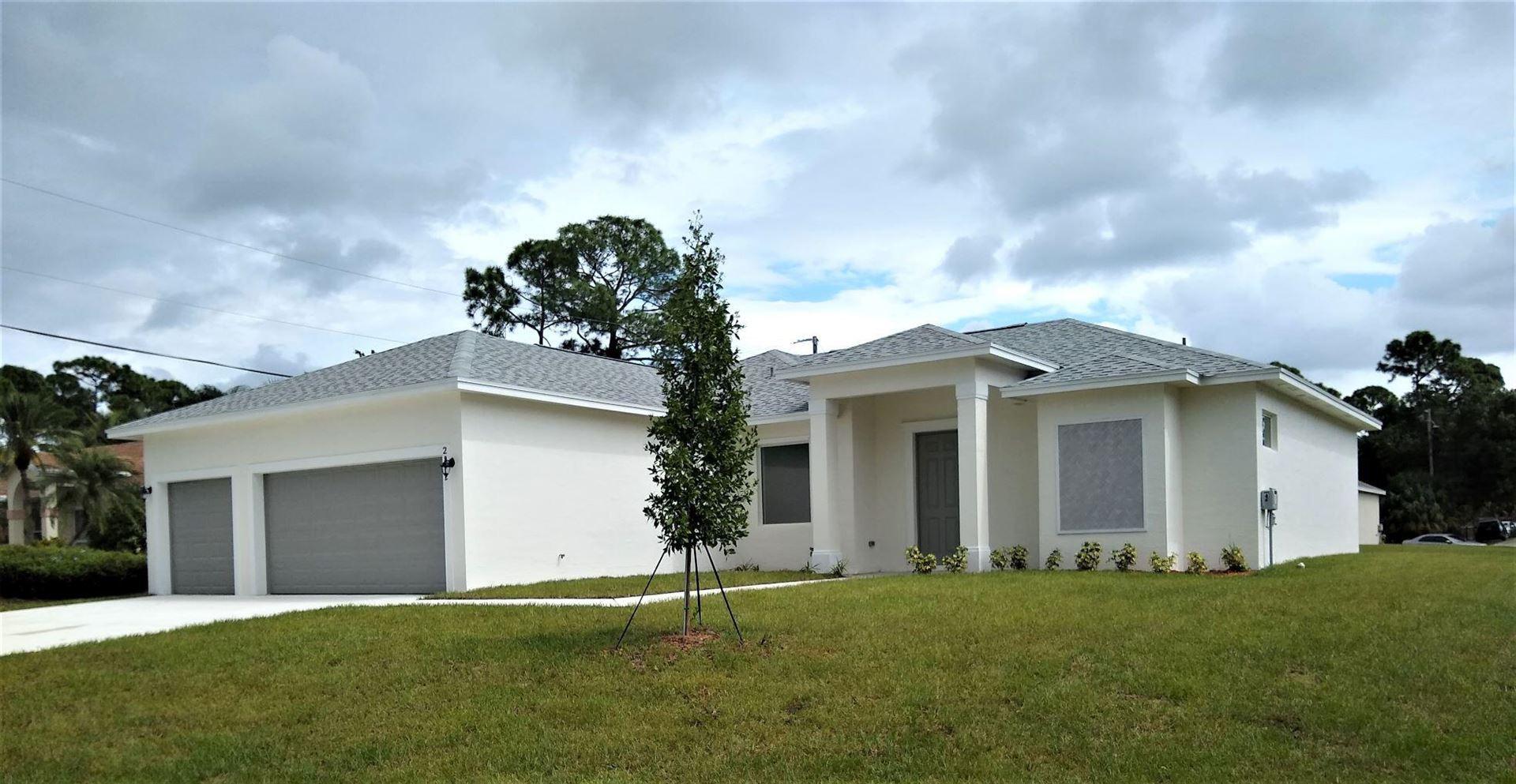 2862 SW West Louise Circle, Port Saint Lucie, FL 34953 - MLS#: RX-10744508