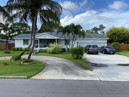 Foto de inmueble con direccion 4337 State Drive West Palm Beach FL 33406 con MLS RX-10641509