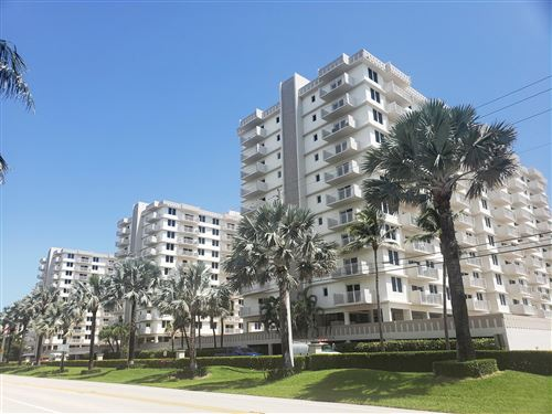 Photo of 3215 S Ocean Boulevard #904, Highland Beach, FL 33487 (MLS # RX-10742509)