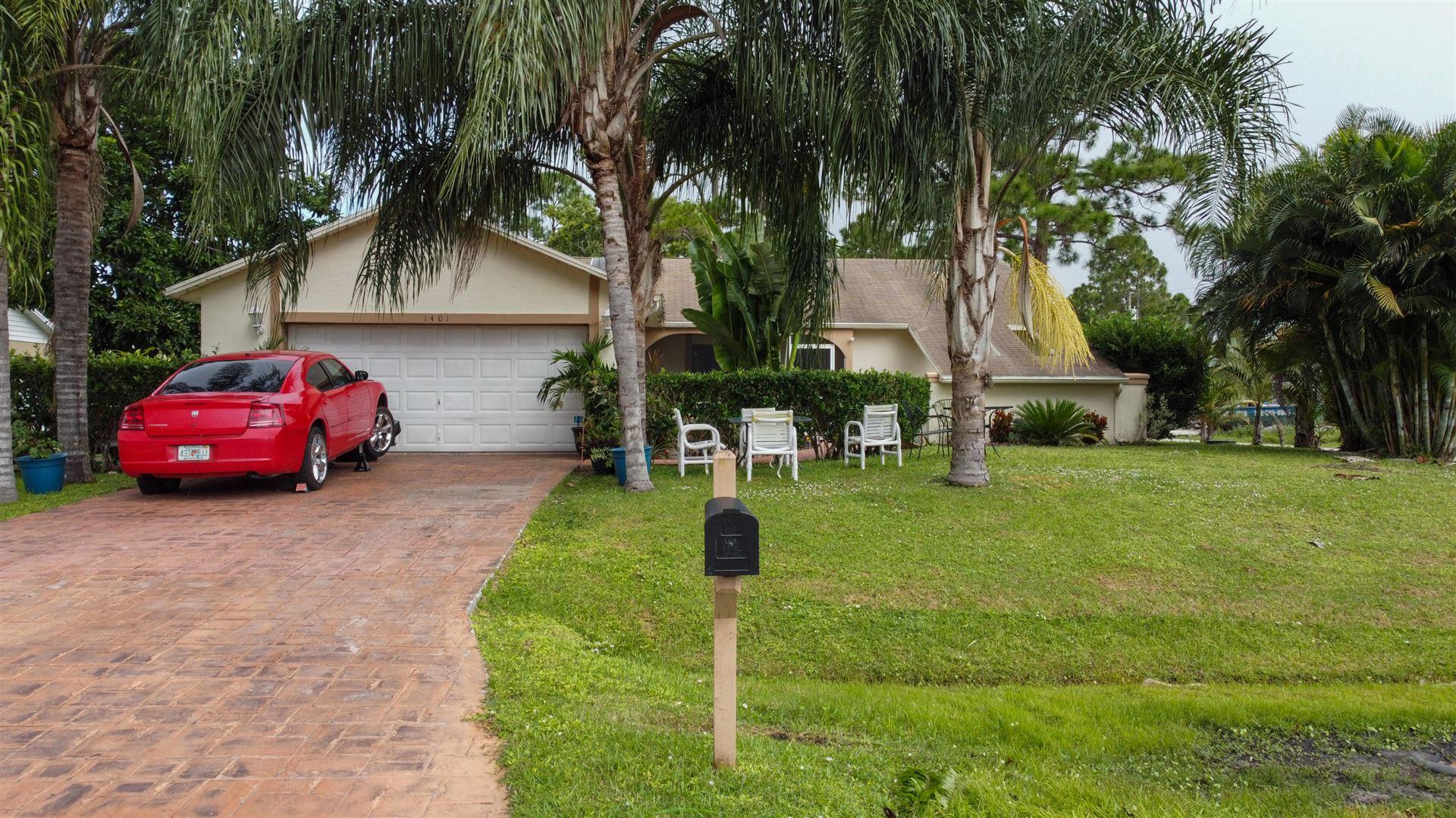 1401 SW Wepaco Avenue, Port Saint Lucie, FL 34953 - #: RX-10673509