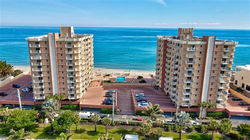 Photo of 4511 S Ocean Boulevard #103, Highland Beach, FL 33487 (MLS # RX-10711510)