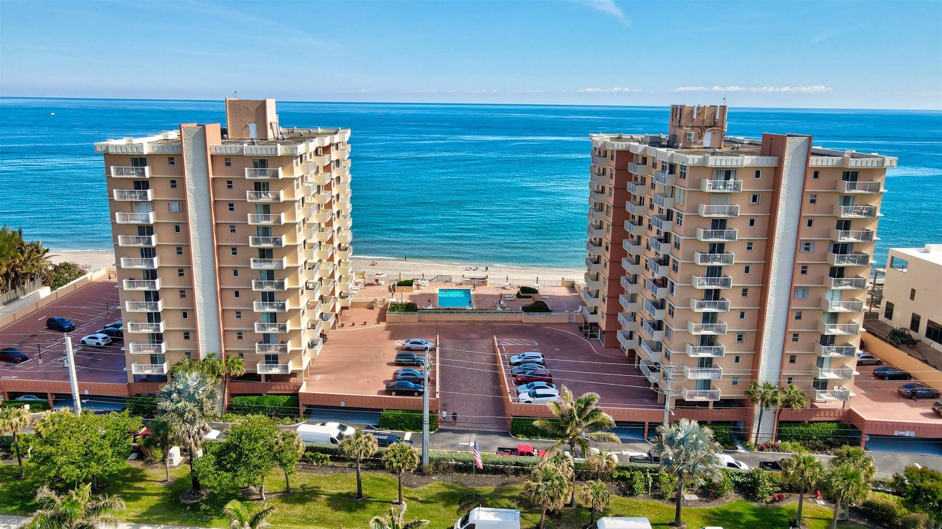 4511 S Ocean Boulevard #103, Highland Beach, FL 33487 - MLS#: RX-10711510