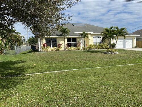 Photo of 280 SW Tulip Boulevard, Port Saint Lucie, FL 34953 (MLS # RX-10602512)