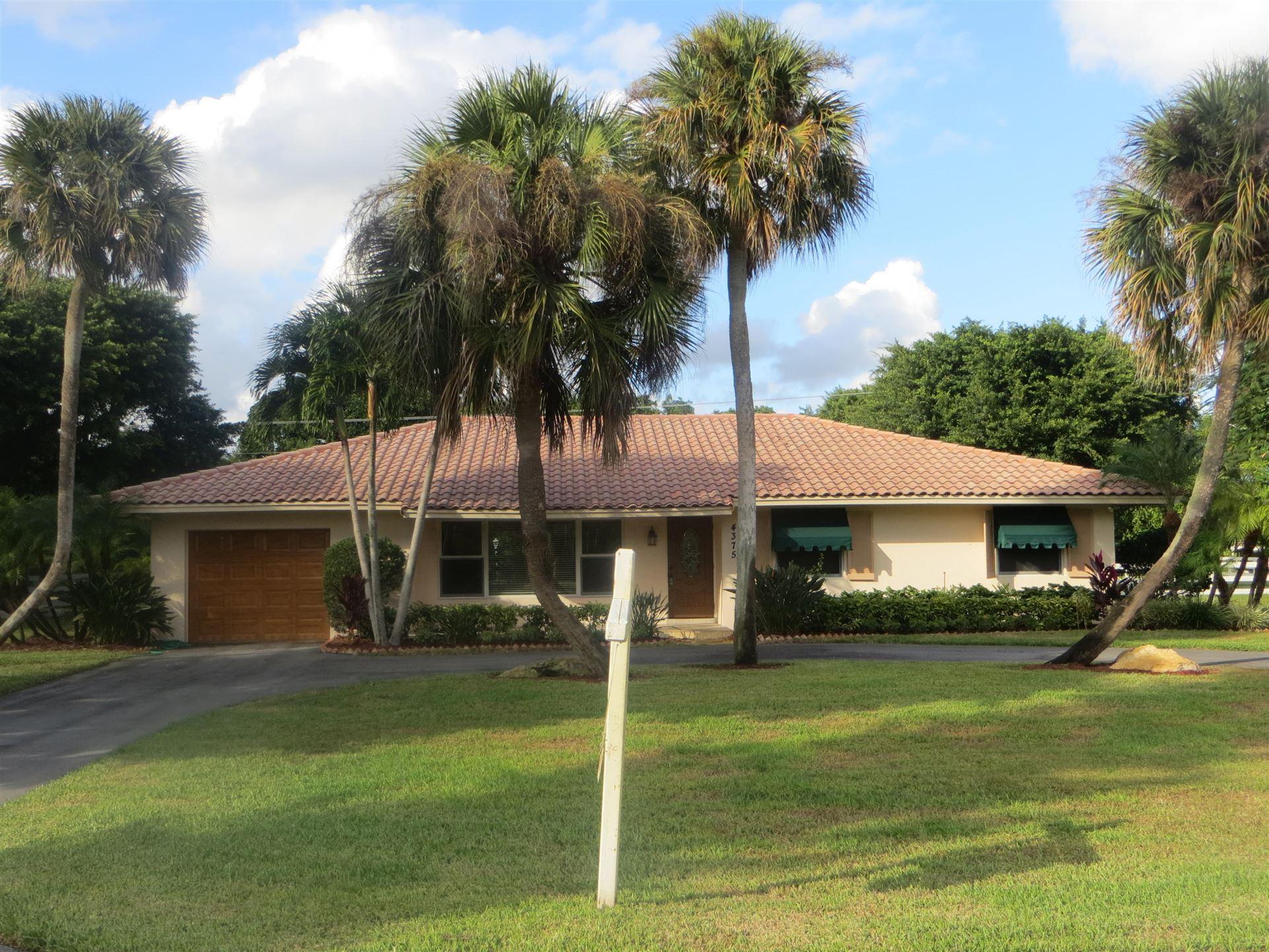 4375 Frances Drive, Delray Beach, FL 33445 - MLS#: RX-10706513