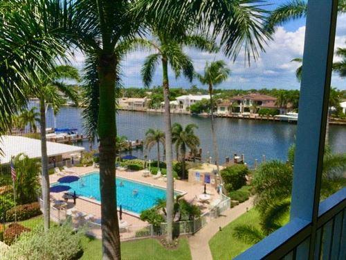 Photo of 3212 S Ocean Boulevard #506a, Highland Beach, FL 33487 (MLS # RX-10650514)