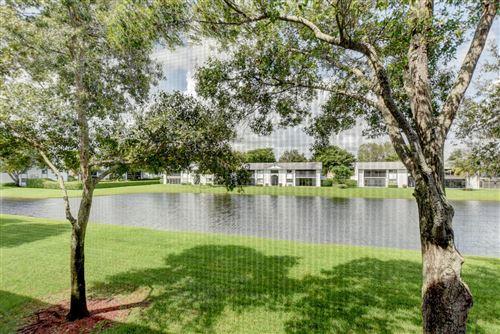 Photo of 15365 Lakes Of Delray Boulevard #212, Delray Beach, FL 33484 (MLS # RX-10723514)