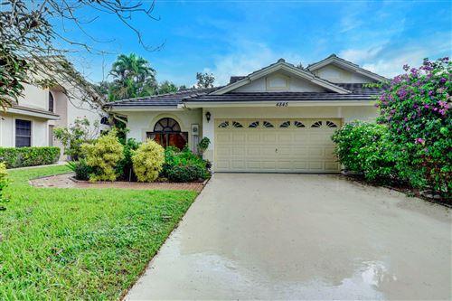 Photo of 4845 Brighton Lakes Boulevard, Boynton Beach, FL 33436 (MLS # RX-10644516)