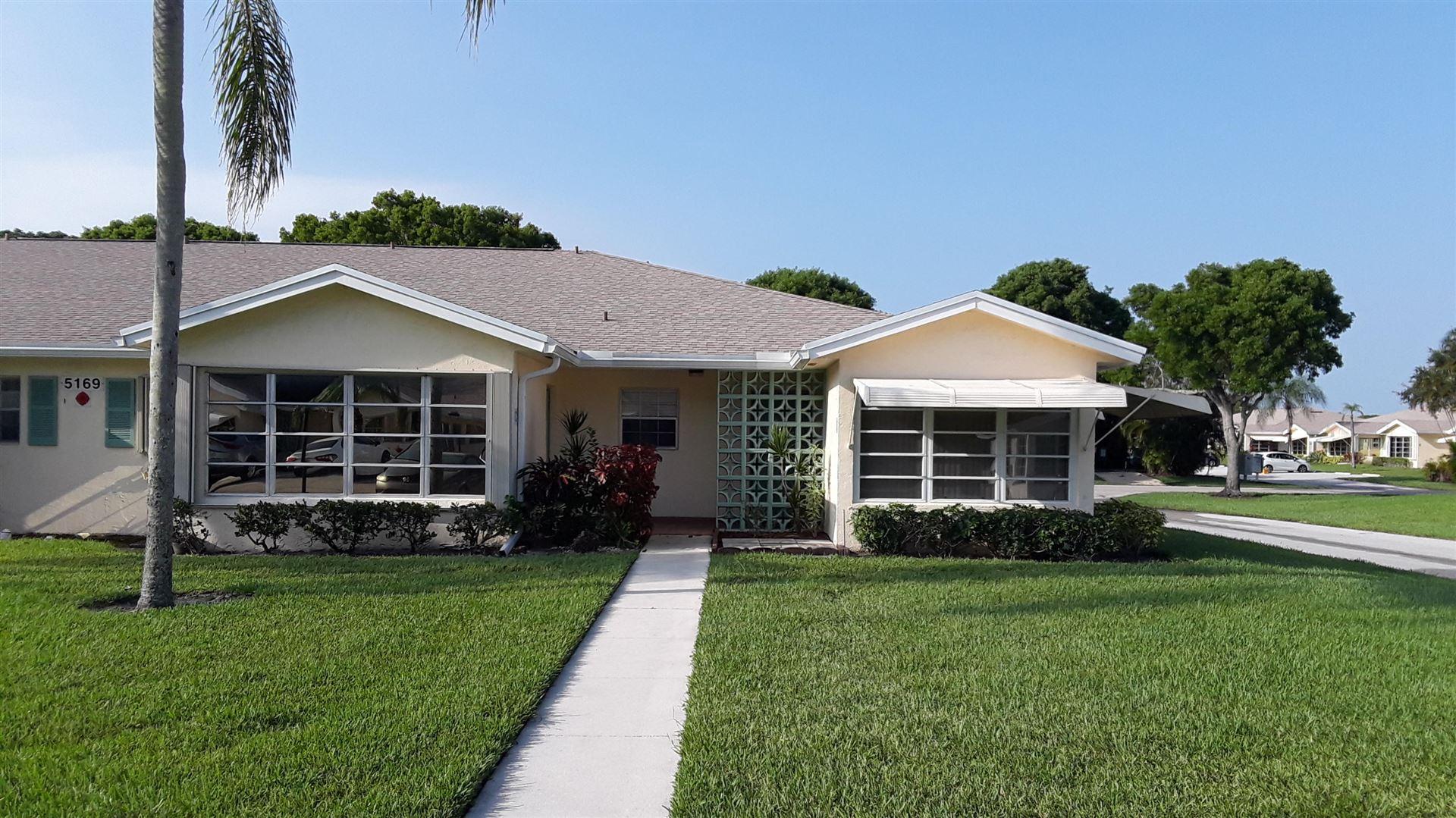 5169 Lakefront Boulevard #D, Delray Beach, FL 33484 - #: RX-10625517