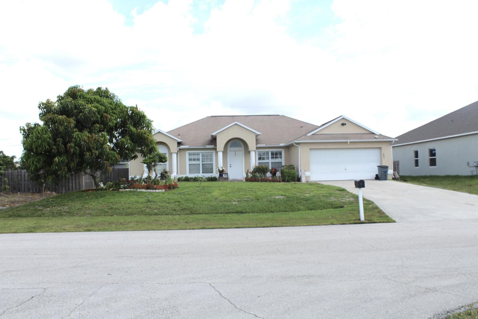 335 SW Dustin Avenue, Port Saint Lucie, FL 34953 - MLS#: RX-10715517