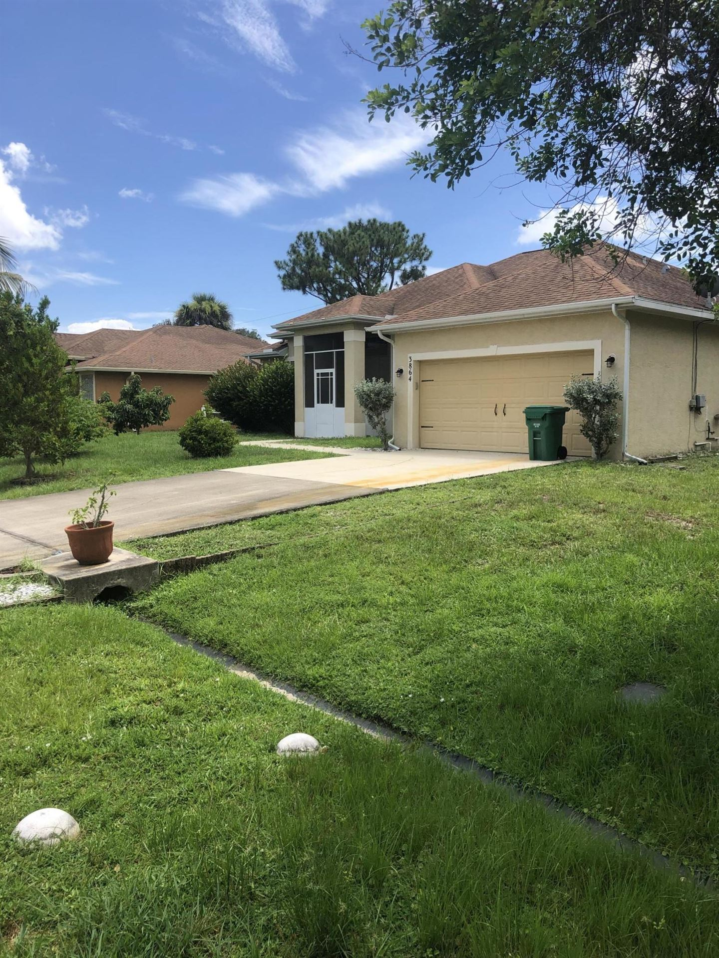 3864 SW Wycoff Street, Port Saint Lucie, FL 34953 - #: RX-10735517