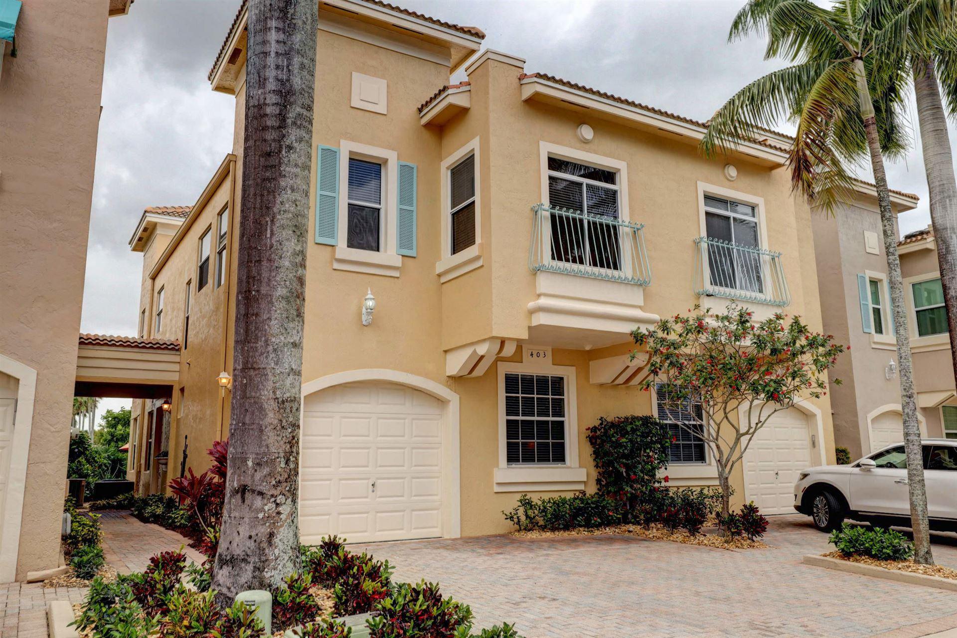 403 Resort Lane, Palm Beach Gardens, FL 33418 - #: RX-10607518