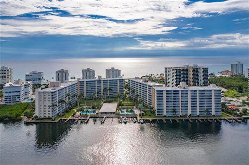 Photo of 3300 S Ocean Boulevard #317 C, Highland Beach, FL 33487 (MLS # RX-10747519)