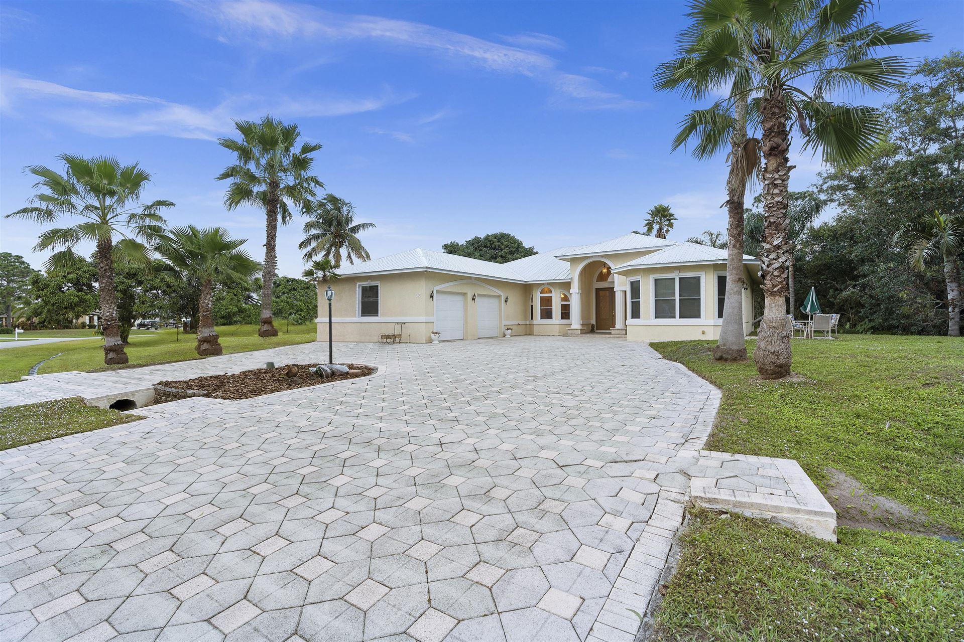 306 SE Fisk Road, Port Saint Lucie, FL 34984 - #: RX-10681520